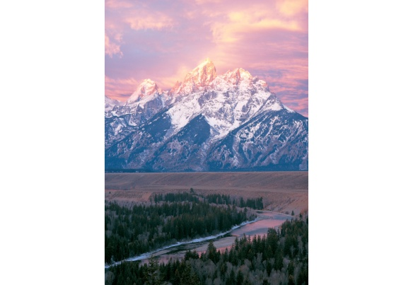 Image taken in Grand Teton National Park expressing the beauty of the park