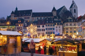 Lucerne Switzerland, a Winter Wonderland.