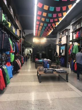 The main room of the Cotopaxi store.