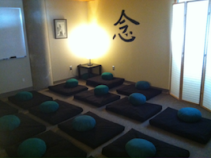 A peaceful room to practice mindful awareness.