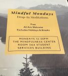 Mindful Mondays welcomes everyone to a Drop-In Meditation.
