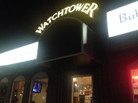 Watchtower Cafe on State Street, just before the Nov. 9, 2017, Sugar Slam.
