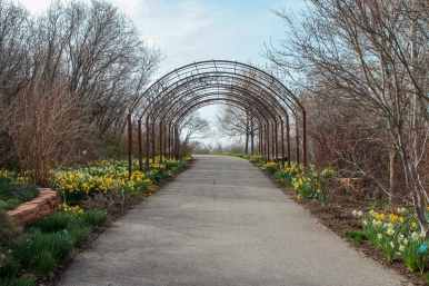 RBG Path to visitor center