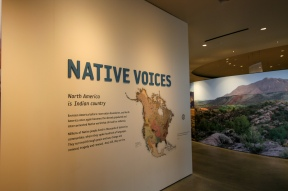 NHMU Native voices exhibit