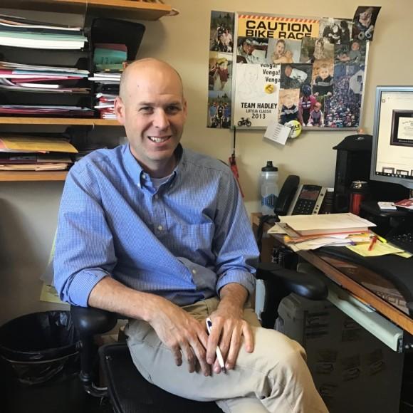 Academic Advisor Steve Hadley.