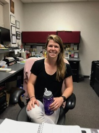Lucy Mower, who is a second-year graduate student at the U. She is studying nutrition and integrative physiology.