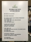 The schedule of the symposium. Some interesting lectures and breakout sessions were provided.