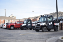 The police fleet.