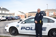 Officer Buchanan aims to make campus safe for all citizens.