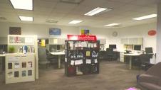 Photo by Hailey Danielson 2019 | The Writing Center main lobby.