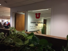 The Dining Services office is located in the basement of the Union building.