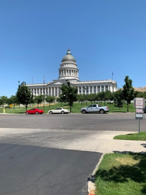 The state capitol in Salt Lake City where the house bill was signed to reduce Bears Ears National Monument by nearly 85%.